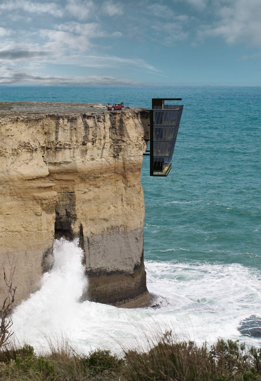 Australian Cliff Home