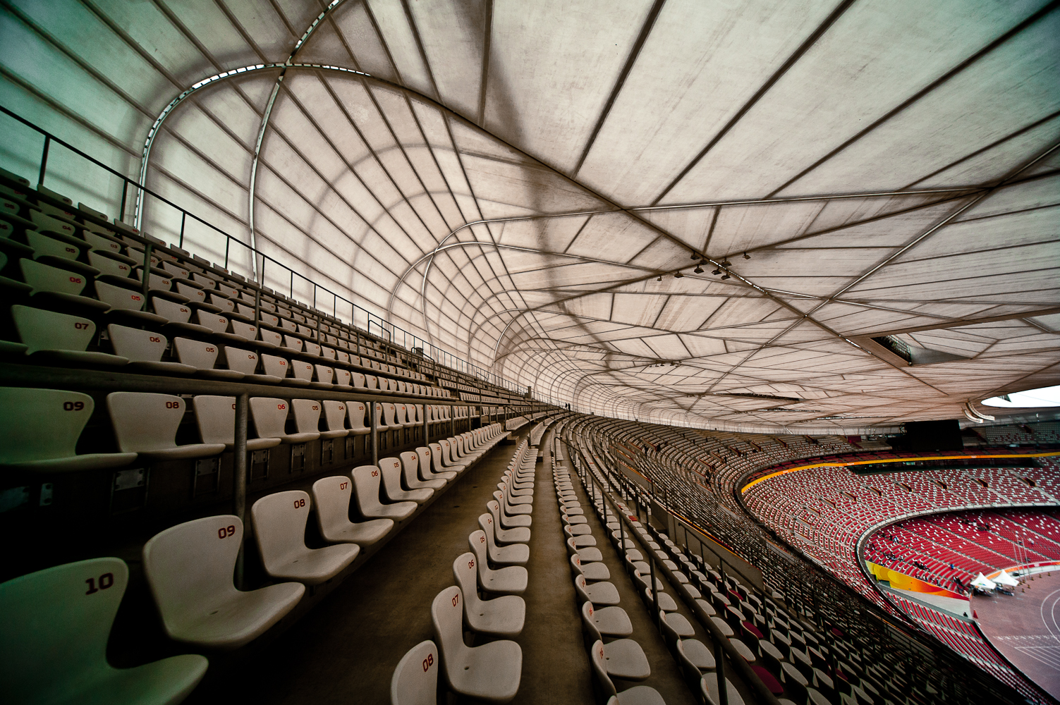 Beijing national stadium miami architects for The nest beijing