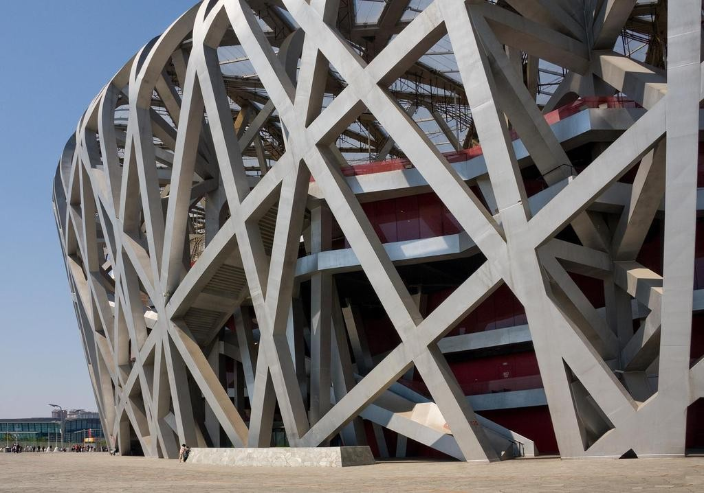 N031 090426 4399 Beijing National Stadium by Herzog and de Meuron