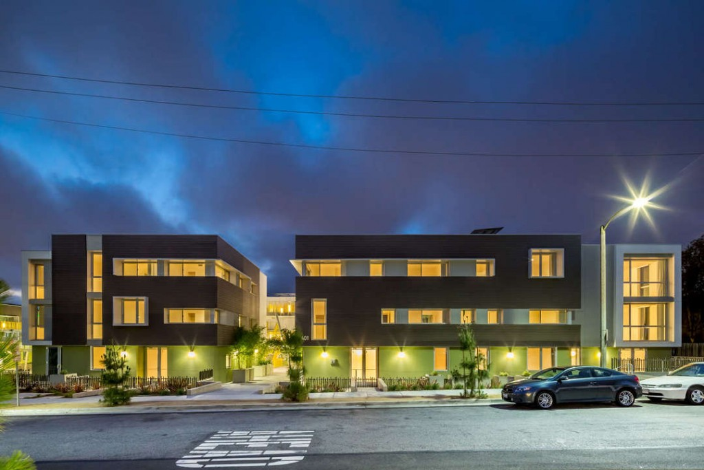High Place West Affordable Living Apartments, Santa Monica, CA by Kanner Architects, Egan Simon Architecture and Community Corporation of Santa Monica